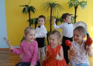Веселые инструменты (детский оркестр).