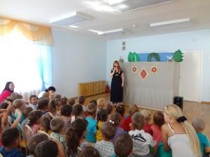 """Театр """"Сабантуй"""" (10.07.2013) """"Зайчик спешит на праздник"""""""